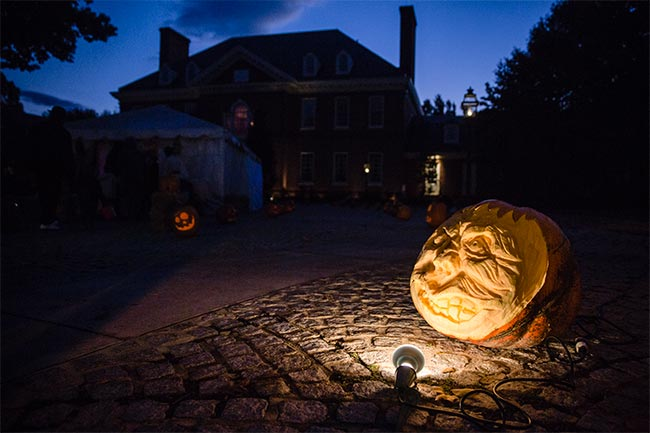 Trick Or Treat Night Pennsylvania Governor S Residence